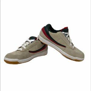 Men's size 9 leather fila originals tennis shoes